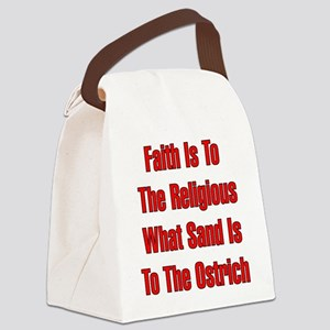 anti-christian002 Canvas Lunch Bag